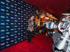 Richard Hadfield red carpet