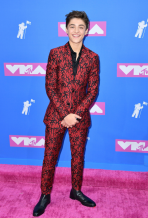 Asher Angel in Dior Homme
