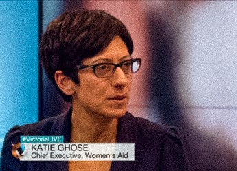 Katie Ghose, the chief executive ofWomen's Aid.