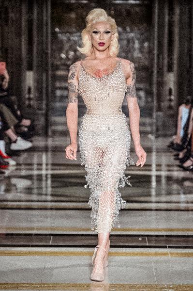London Fashion Week Runway Mark Fast