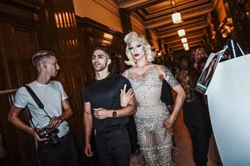 Miss Fame London Fashion Week Runway Backstage Mark Fast