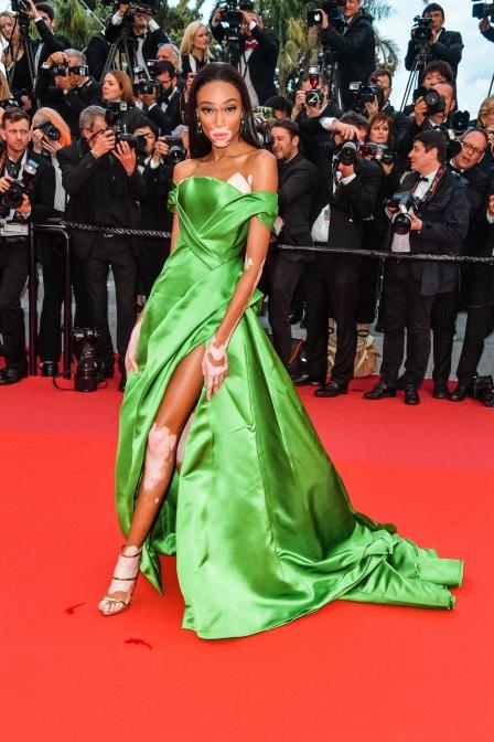 Winnie Harlow Red Carpet Cannes 2018