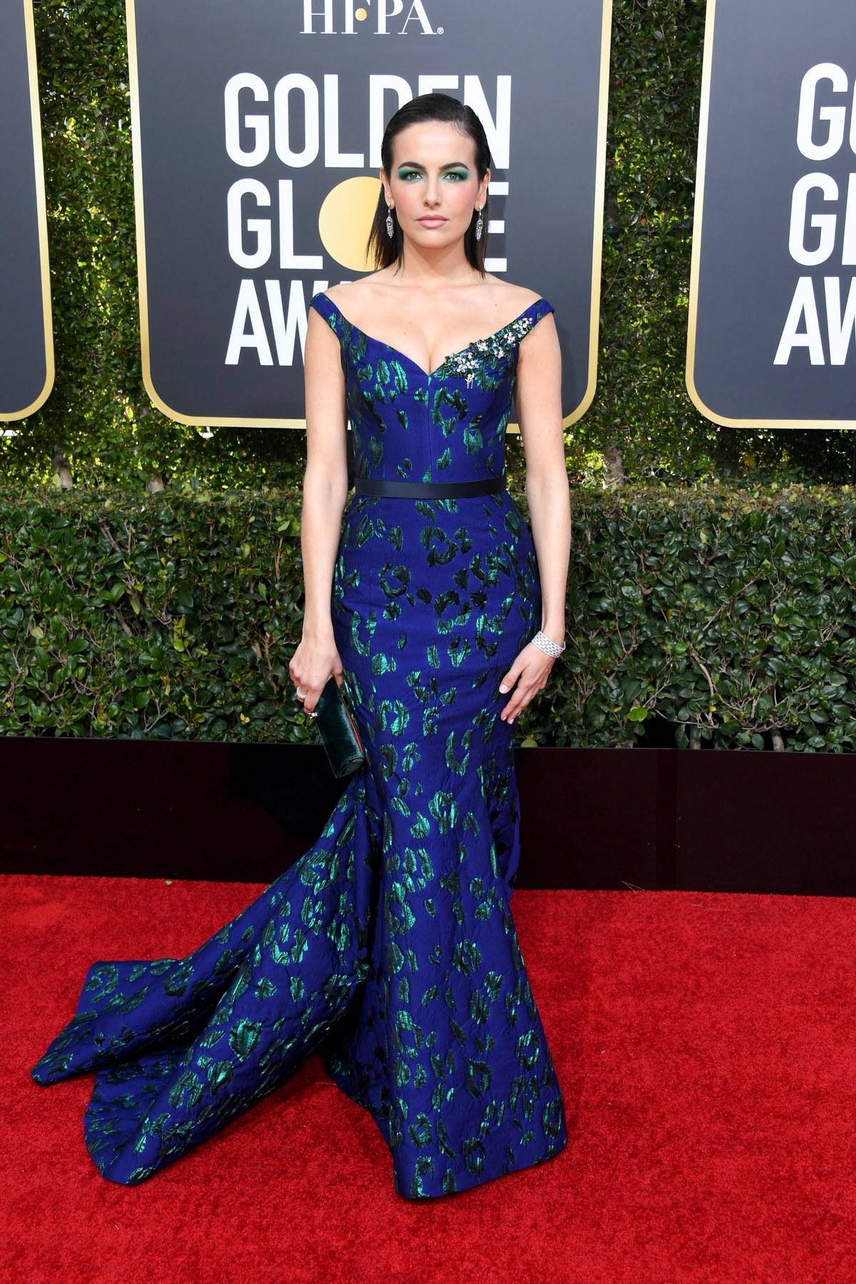 Camilla Belle wearing Jason Wu Golden Globes