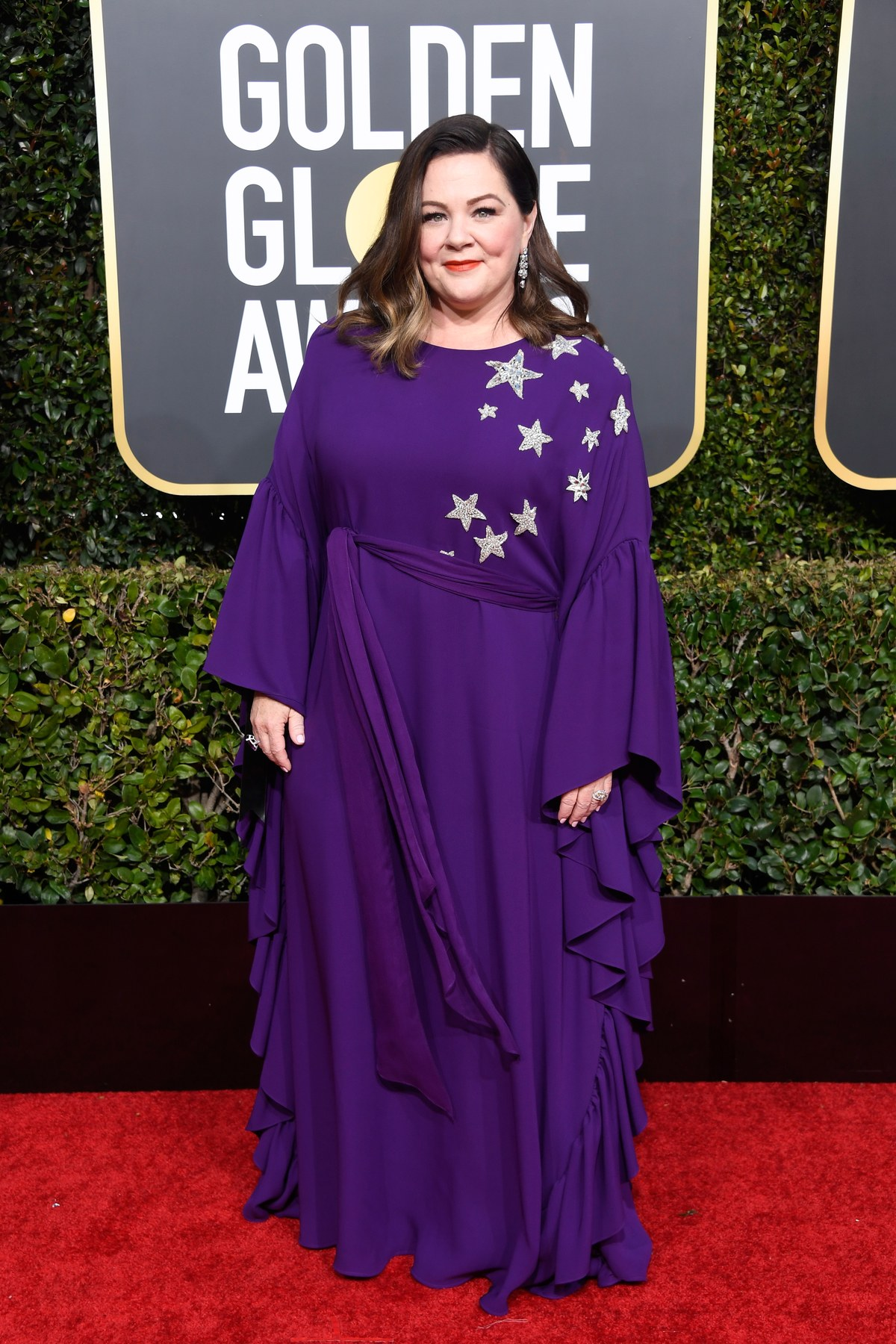 Melissa McCarthy Reem Acra Golden Globes
